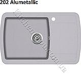 Гранітна мийка AquaSanita Lira SQL-101 (780х500 мм.), фото 7