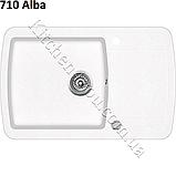 Гранітна мийка AquaSanita Lira SQL-101 (780х500 мм.), фото 3