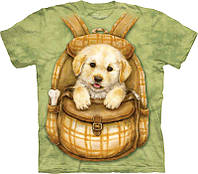 3-D футболка PUPPY BACKPACK