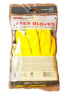 PRO service Professional перчатки универсальные, латексные, желтые, 1 пара М