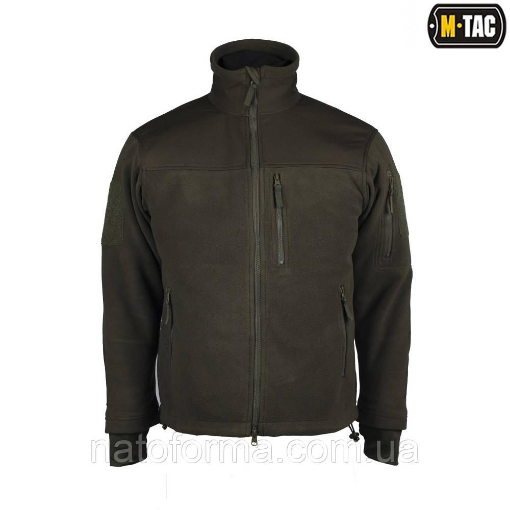 Флисовая куртка Alpha Microfleece Jacket Olive M-TAC