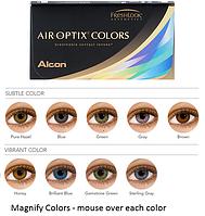 AirOptix Colors | Цветная силикон-гидрогелевая линза (2 шт.)