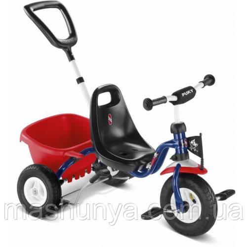 Велосипед триколісний Puky Cat 1 L надувні колеса