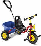 Велосипед триколісний Puky Cat 1 L надувні колеса, фото 7