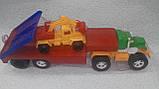 Игрушечный большой автовоз с экскаватором, фото 3