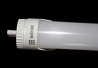 LED лампа Т8 G13 18W-5730 1200 мм Plastic Ledmax с поворотным цоколем, фото 1