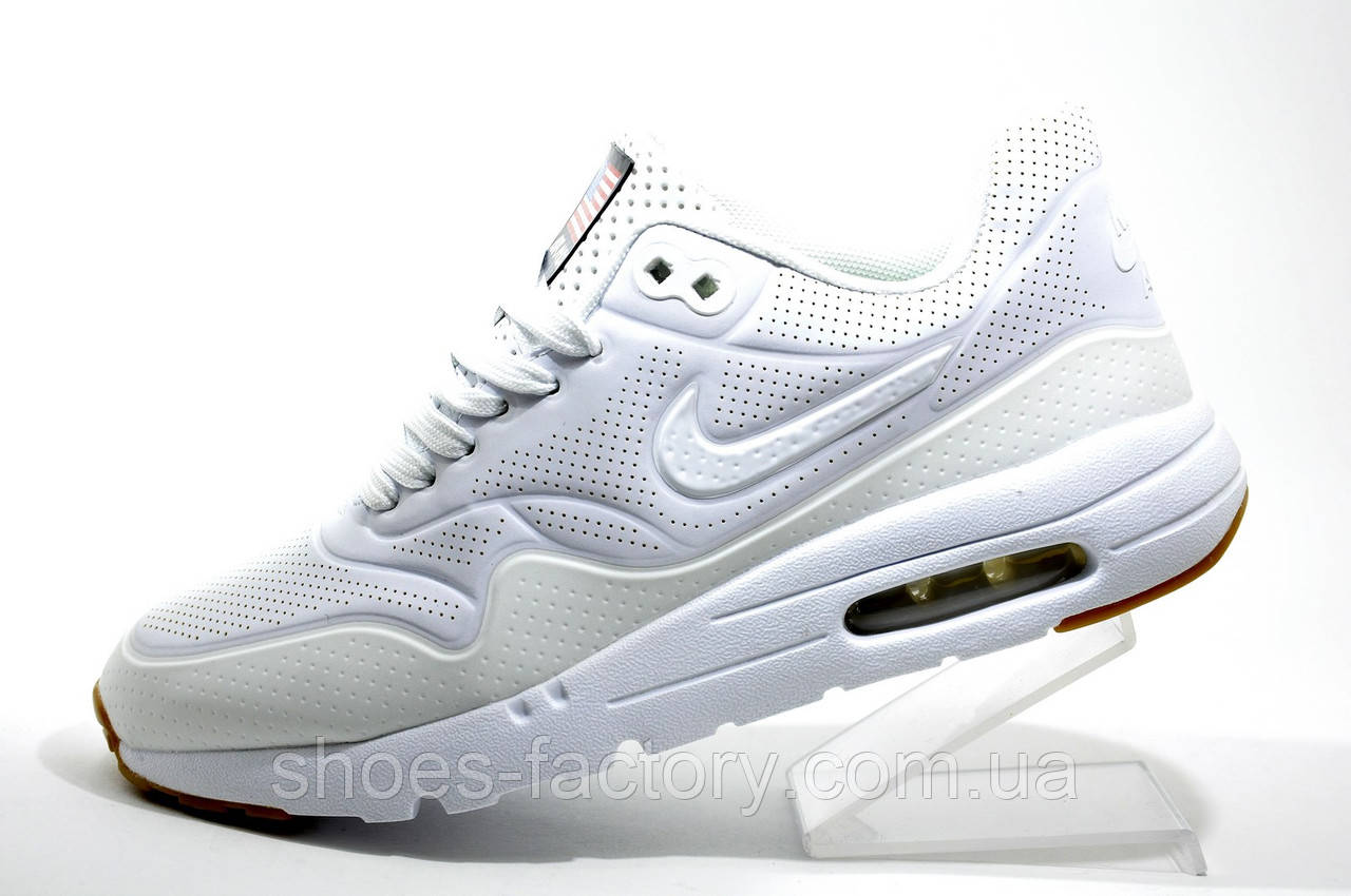Кроссовки женские в стиле Nike Air Max 1 Ultra Moire, White