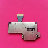 Коннектор SIM-карты для мобильных телефонов Samsung I9190 Galaxy S4 mini I9192 Galaxy S4 Mini Duos I9195 б/у, фото 2
