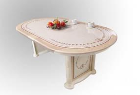 Стол раскладной Вивальди Пино лак (Світ Меблів ТМ)
