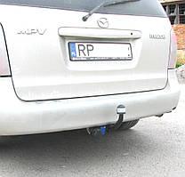 Фаркоп на Mazda MPV (1999-2006) Запаска в салоне