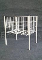 Стол для распродаж. Демонстрационный стол. Акционный стол. 600 х 800. Яч. 50мм.