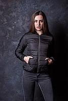Куртка, женская, весенняя, осенняя, стеганная демисесонная