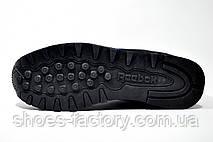 Кроссовки мужские Reebok Classic Runner Jacquard, Dark Blue\Black, фото 3