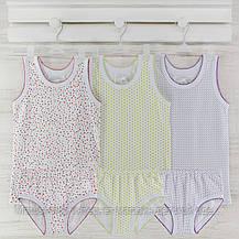 Комлект трусы майки  для девочки  86_92_ см. Хлопок-кулир. В наличии 86-92 и 98-104,рост., фото 2
