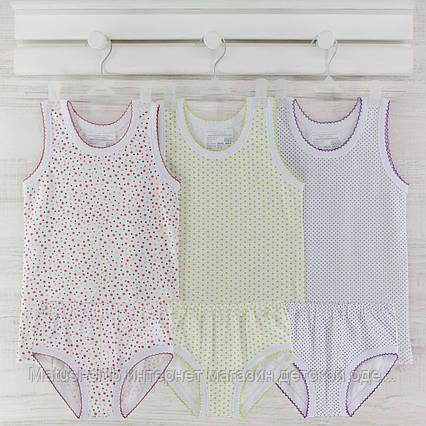 Комлект детские трусы майки  для девочки  2_3_лет. Хлопок-кулир. В наличии 86-92 и 98-104,рост., фото 2