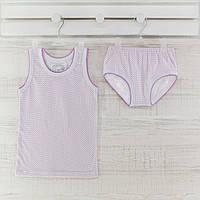 Комлект трусы майки  для девочки  _86_92 см. Хлопок-кулир. В наличии 86-92 и 98-104,рост.