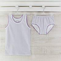 Комлект трусы майки  для девочки  86_92_ см. Хлопок-кулир. В наличии 86-92 и 98-104,рост.