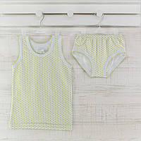Комлект трусы майки  для девочки  _98_104 см. Хлопок-кулир. В наличии 86-92 и 98-104,рост.