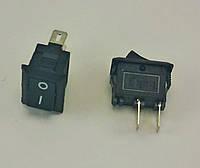 Кнопка, выключатель SMRS-101, тумблер 2 положения 2 контакта. 10*15 мм. 1 шт