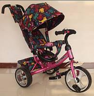 Велосипед трехколесный TILLY Trike, Т-344-5, розовый