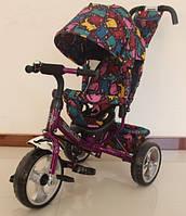 Велосипед трехколесный TILLY Trike, Т-344-5, фиолетовый