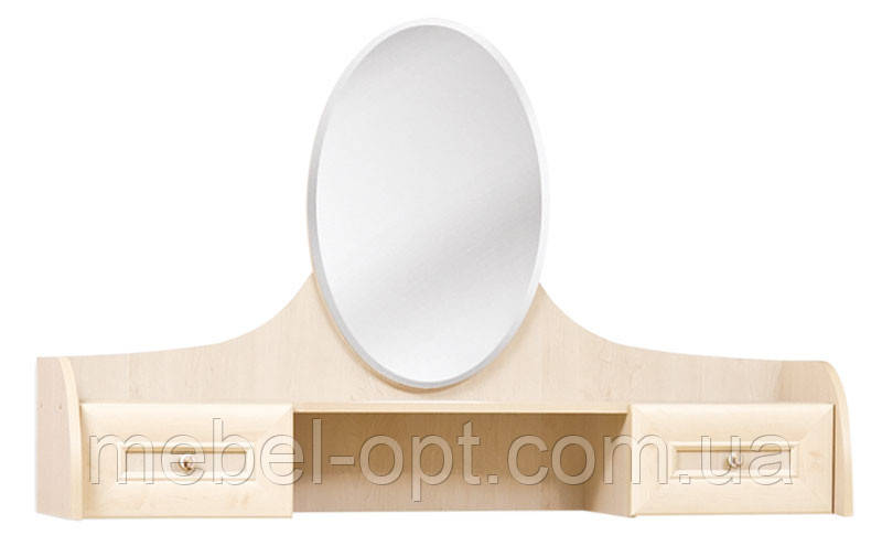 Туалетка Селина надстройка на туалетный столик из комплекта спальни Селина 1260*850*350