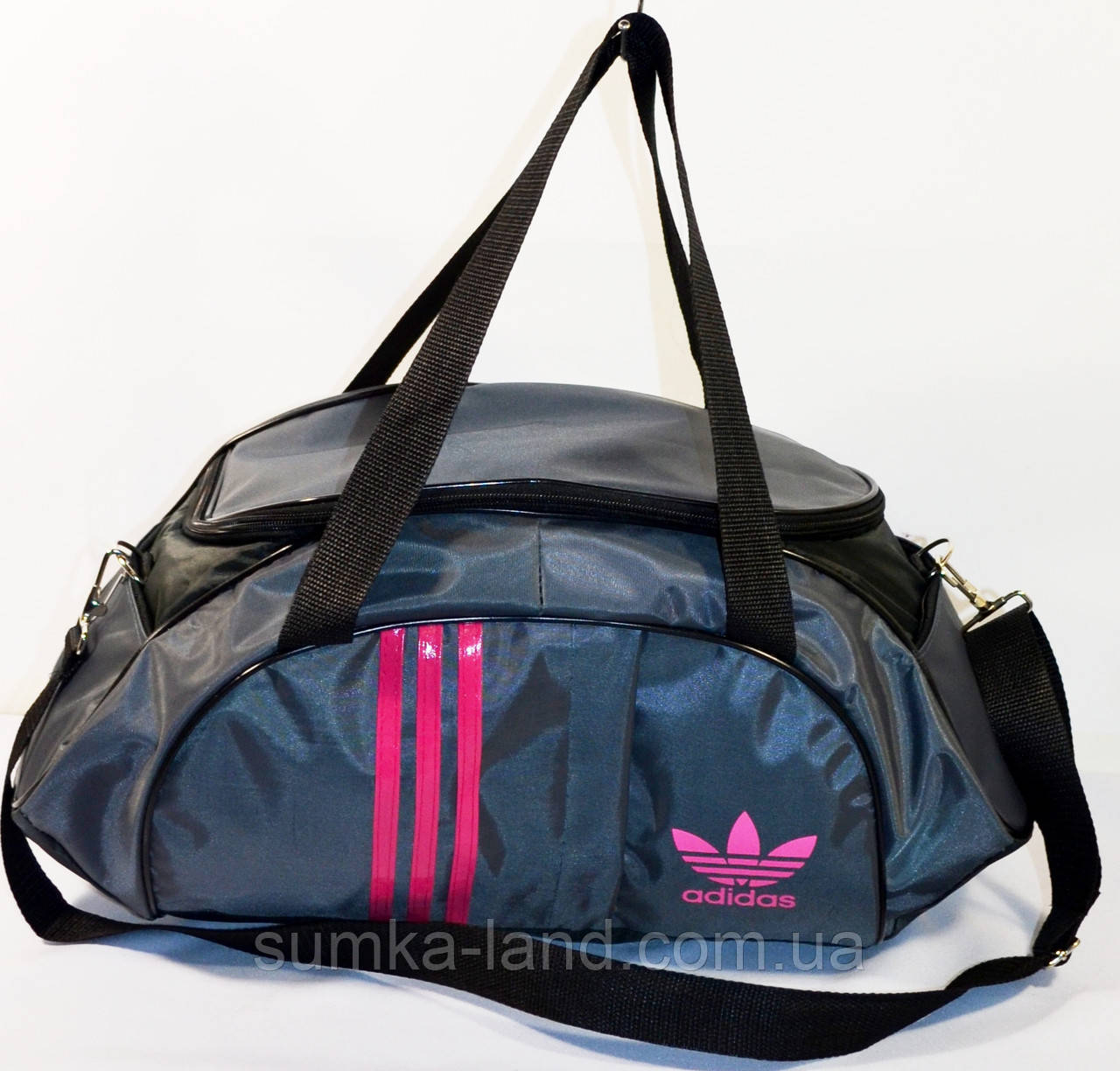 Сумка Adidas (сер\розов)