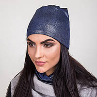 Комплект из шапки и хомута для женщин на весну 2017 - Артикул 2063c
