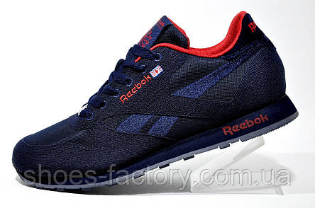 Кроссовки мужские Reebok Classic Runner Jacquard, Red\Dark Blue, фото 2