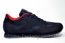 Кроссовки мужские Reebok Classic Runner Jacquard, Red\Dark Blue, фото 3