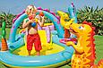 Детский надувной центр «Планета динозавров» Intex 57135, фото 2