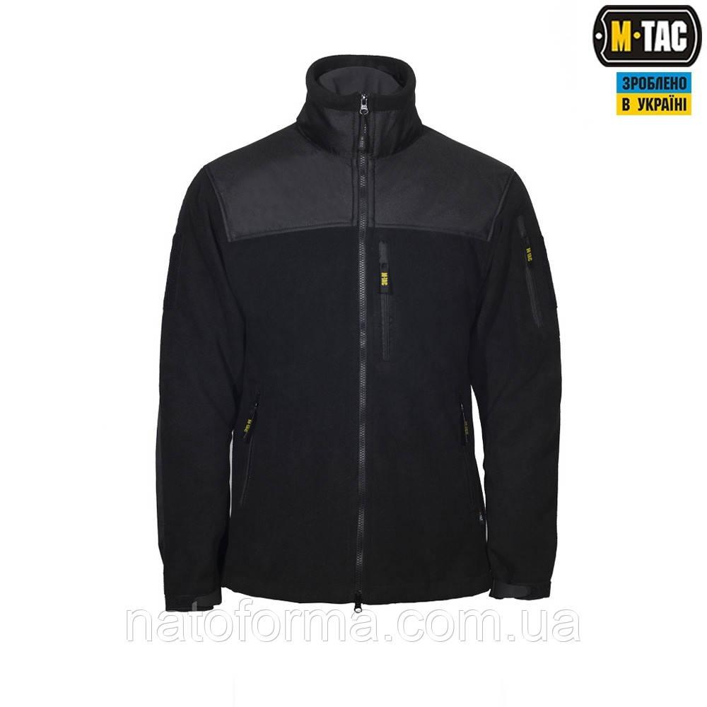 Флисовая куртка Alpha Microfleece Jacket Black M-TAC