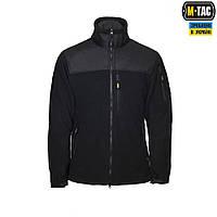 Флисовая куртка Alpha Microfleece Jacket Black M-TAC, фото 1