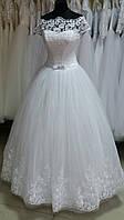"""Свадебное платье Шик-11"""" (юбка - высокие кружева)"""