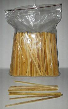Палочка мешалка деревянная не шлифованная