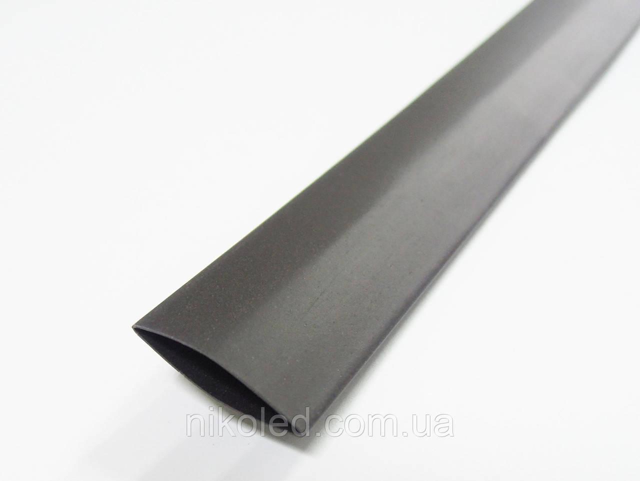 Термоусадочная трубка 12 / 6мм черная 1м