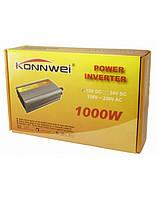 Автомобильный преобразователь напряжения инвертор Konnwei 1000W-12V