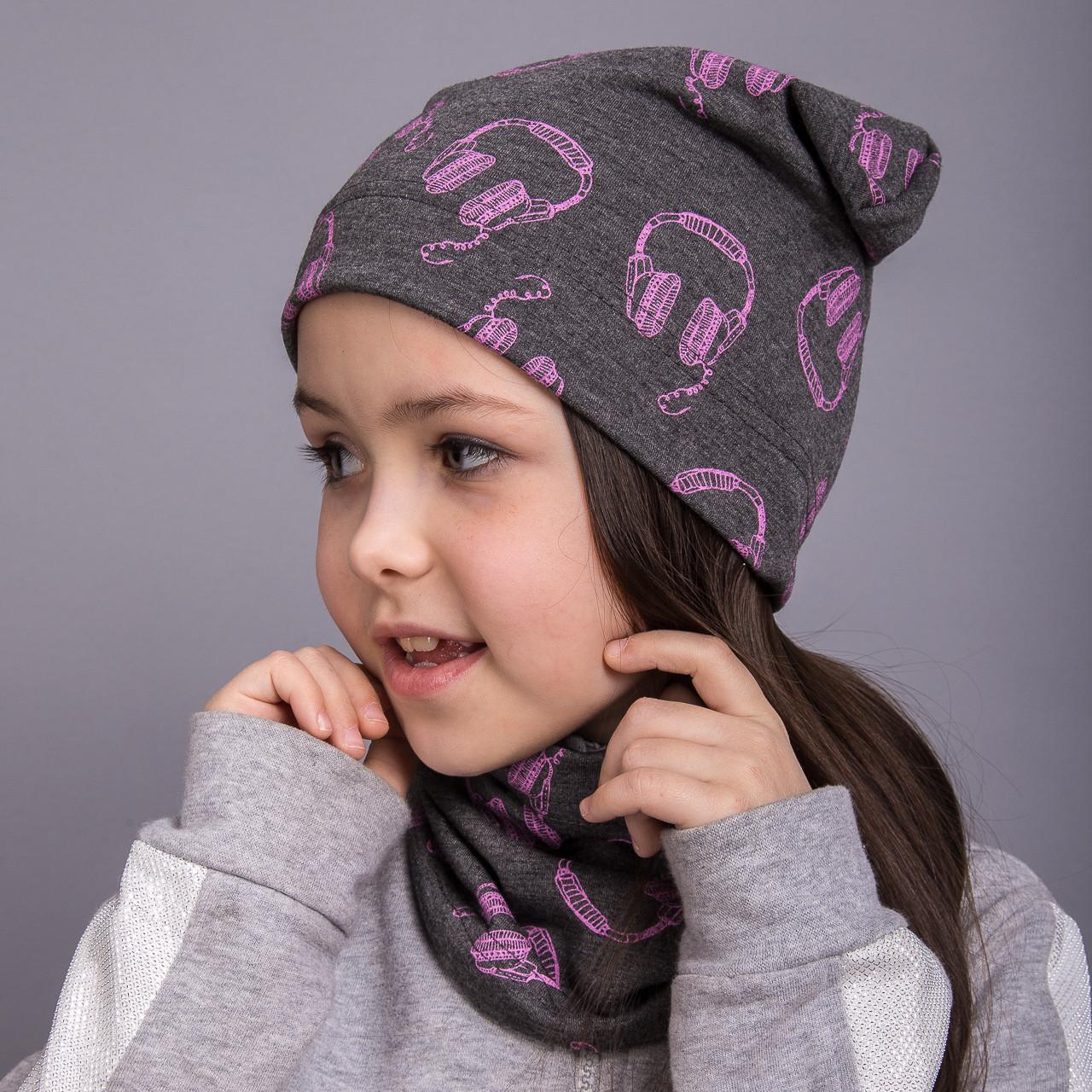 Весенний комплект для девочки - Наушники - Артикул 2043