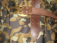 Офицерские ремни кожаные