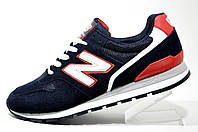 Мужские кроссовки New Balance 996, Red\Dark blue