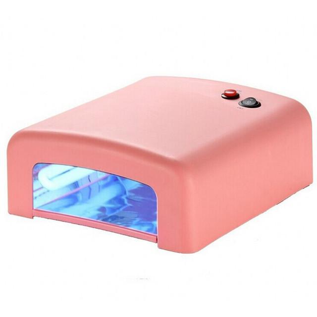 УФ лампа 36 W (розовая)