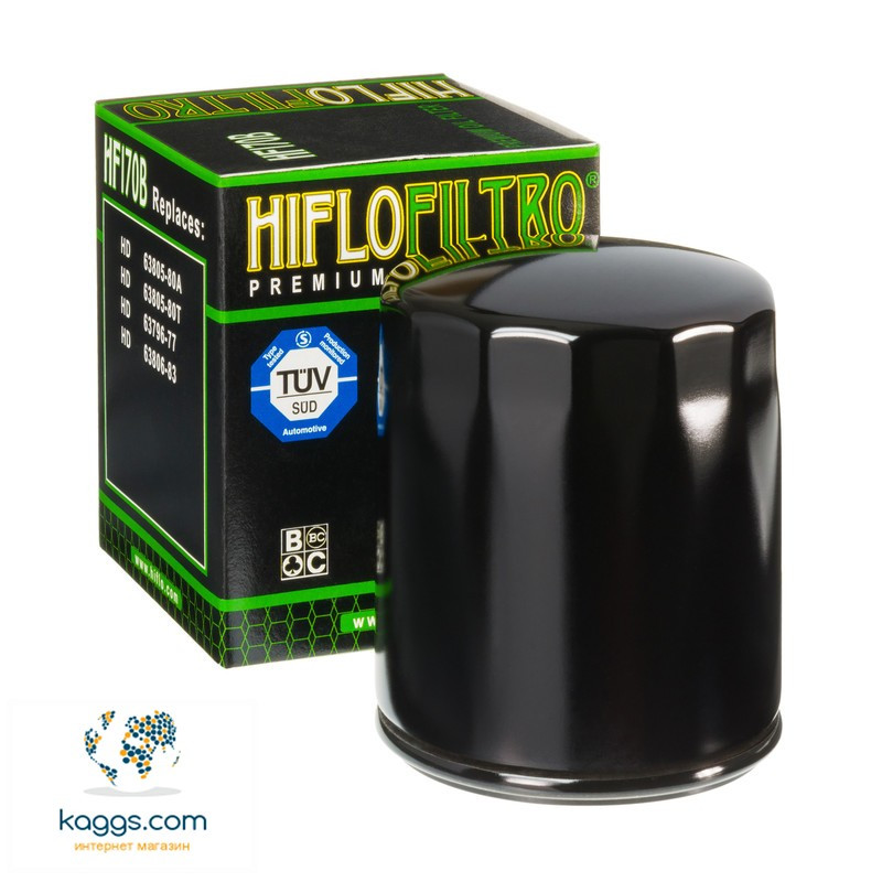 Масляный фильтр Hiflo HF170B для Harley Davidson