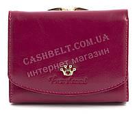 Маленький недорогой женский кошелек высокого качества FUERDANNI art. F2668 малиновый