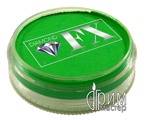 Аквагрим Diamond FX неон зелёный 45g, фото 2