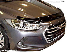 Дефлектор капота Hyundai Elantra 2015 - ..