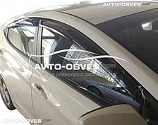 Дефлекторы окон, ветровики Hyundai Elantra 2015 - ..