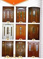 МДФ накладки для вхідних одинарних дверей