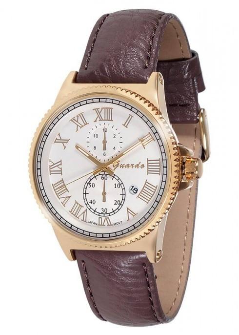 Мужские наручные часы Guardo 10421 GWBr