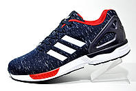 Кроссовки мужские Adidas ZX Flux Weave, Blue\Red\White