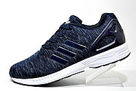Кроссовки мужские Adidas ZX Flux Weave, Dark Blue\White